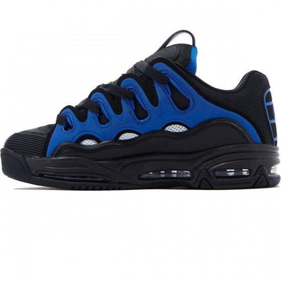 Osiris D3 2001 Shoes - Black/White/Royal - 8.0