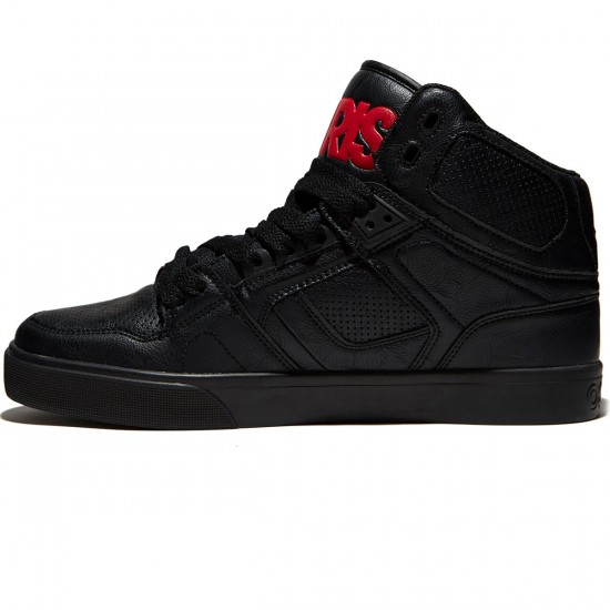 Osiris NYC 83 Vulc Shoes - Black/Red/Red - 8.0