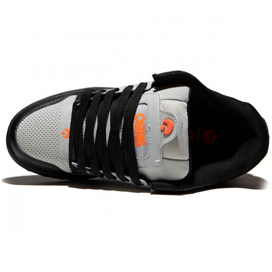 Osiris Peril Shoes - Light Grey/Orange - 8.0
