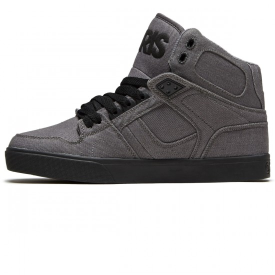 Osiris NYC 83 Vulc Shoes - Grey/Black - 8.5