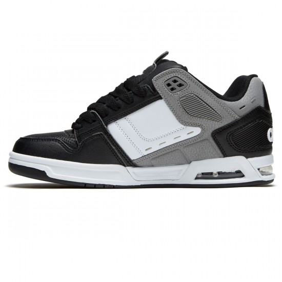 Osiris Peril Shoes - Black/Grey/White - 9.0