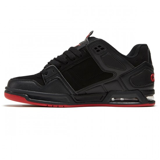 Osiris Peril Shoes - Black/Red - 8.5