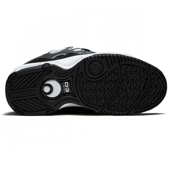 Osiris D3 2001 Shoes - Black/Grey/White - 8.5