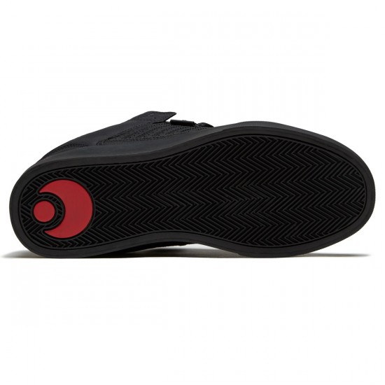 Osiris Protocol Shoes - Black/Red - 8.5