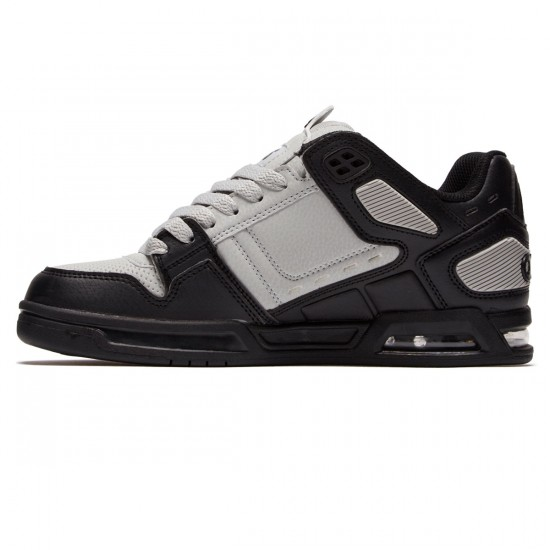 Osiris Peril Shoes - Black/Light Grey/Black