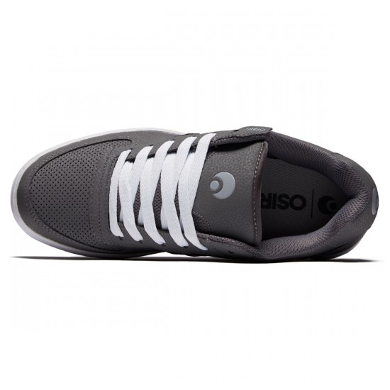 Osiris Relic Shoes - Grey/White/Light Grey - 8.5