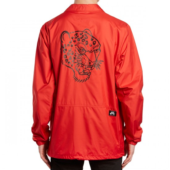 Nike SB Brian Anderson Shield Coaches Jacket - Red/Black