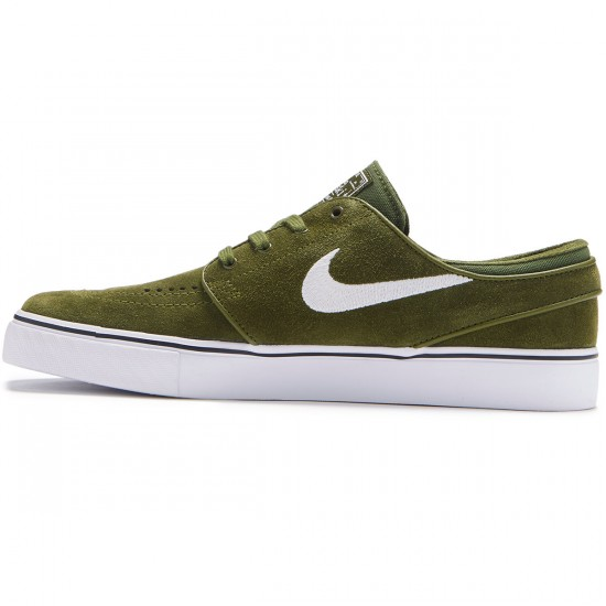 Nike Zoom Stefan Janoski Shoes - Legion Green/White/Black - 7.0