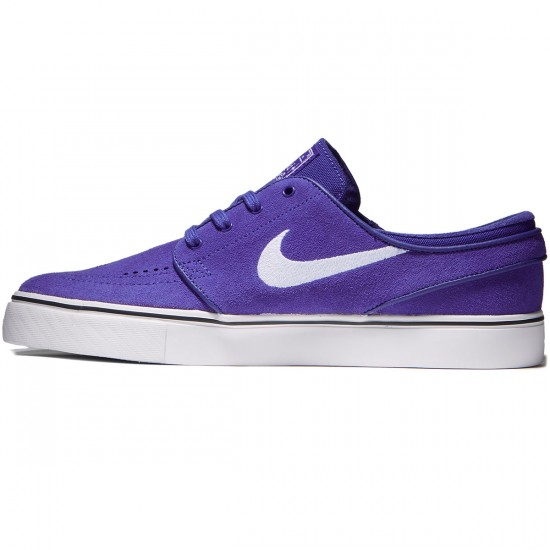 Nike Zoom Stefan Janoski Shoes - Deep Night/White/Black - 7.0