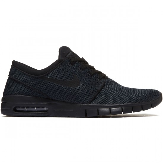 Nike Stefan Janoski Max Shoes - Black/Black - 7.0