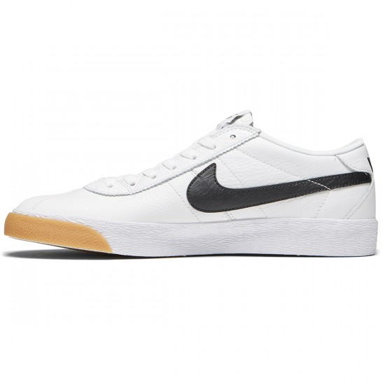 Nike SB Bruin Premium SE Shoes - Summit White/Black/White - 8.0