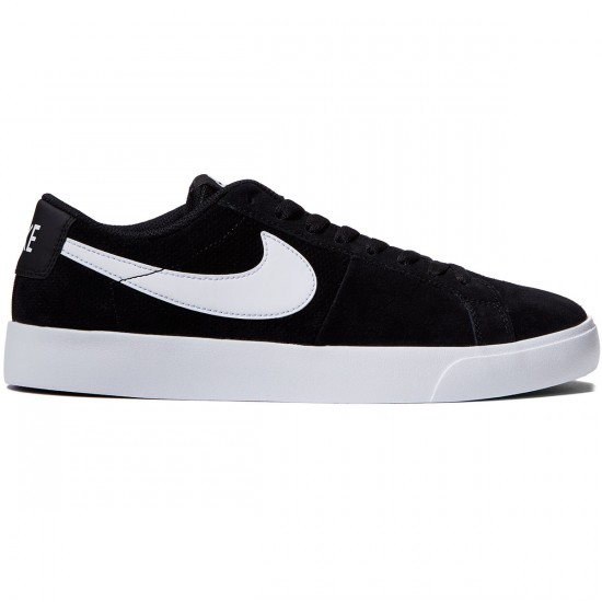 Nike SB Blazer Vapor Shoes - Black/White - 10.0