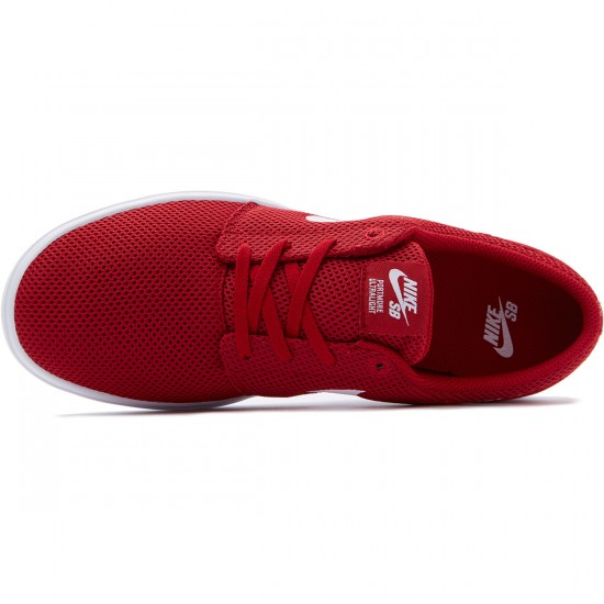 Nike SB Portmore II Ultralight Shoes - Gym Red/White - 8.0