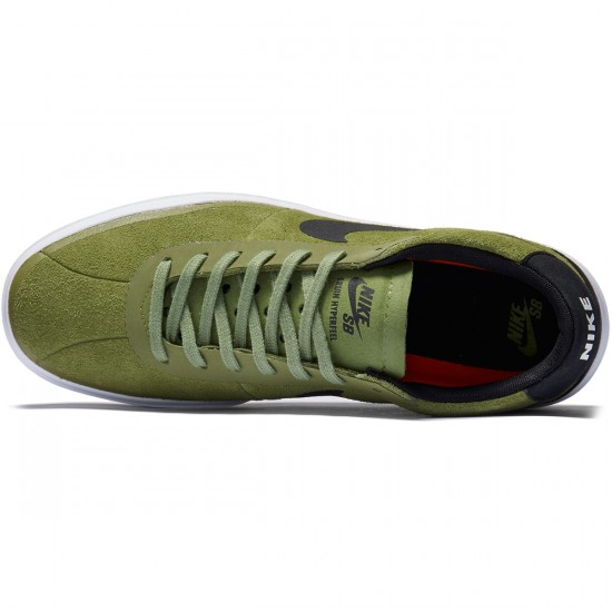 Nike SB Bruin Hyperfeel Shoes - Palm Green/Black/White - 7.0