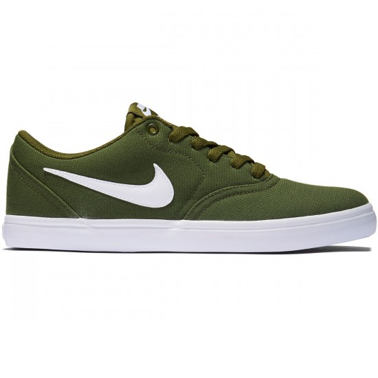 Nike SB Check Solarsoft Shoes - Legion Green/White - 7.0