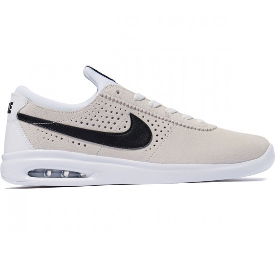 Nike SB Air Max Bruin Vapor Shoes - Summit White/Black/White - 8.0
