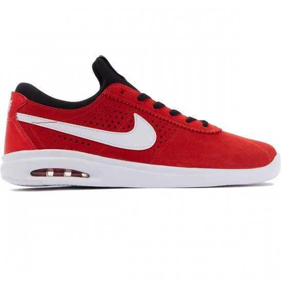 Nike SB Air Max Bruin Vapor Shoes - Red/White/Black - 8.5