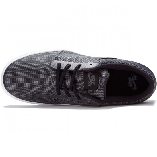 Nike SB Portmore Ultralight Shoes - Black/Dark Grey - 7.0