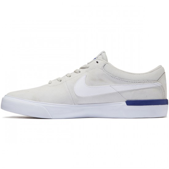 Nike SB Koston Hypervulc Shoes - Light Bone/White/Deep Night - 7.5