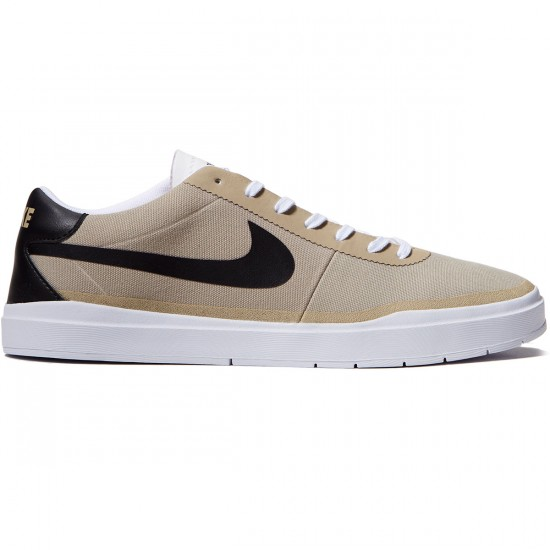 Nike SB Bruin Hyperfeel Shoes - Khaki/Black/White - 10.0