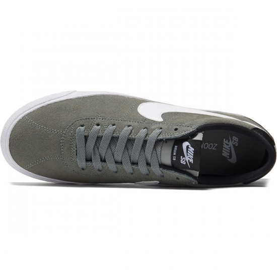 Nike SB Zoom Bruin Shoes - Tumbled Grey/White/Black - 8.0