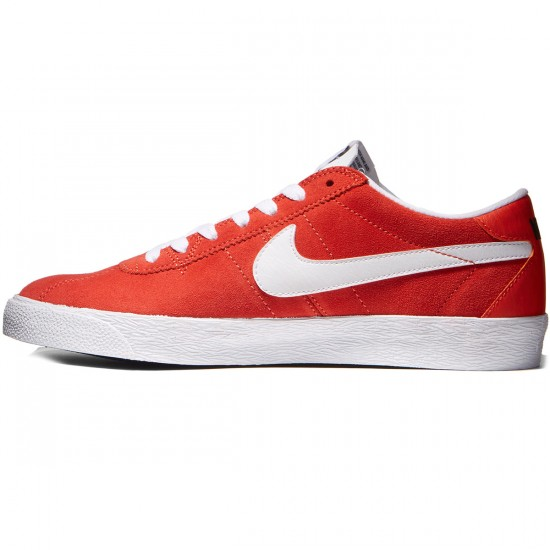Nike SB Bruin Premium SE Shoes - Max Orange/White/Black - 8.5
