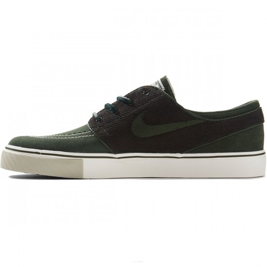 Nike Zoom Stefan Janoski Shoes - Dark Army/Sail - 8.0