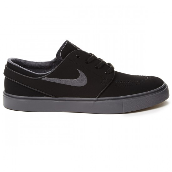 Nike Zoom Stefan Janoski Shoes - Black/Gum/Brown/Dark Grey - 8.0