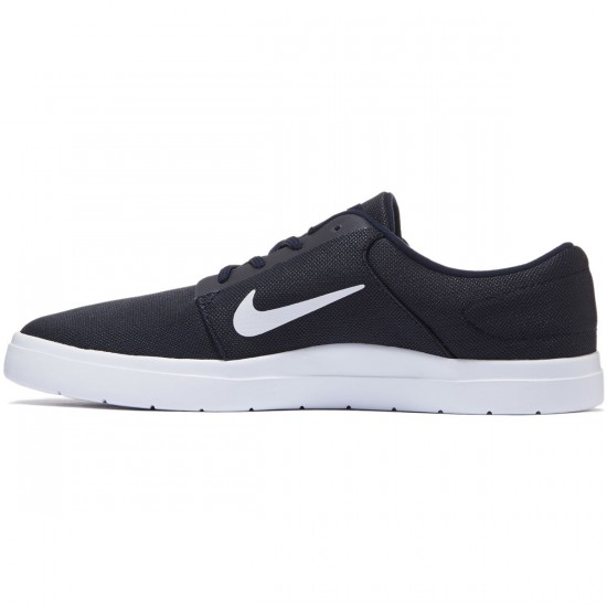 Nike SB Portmore Ultralight Shoes - Obsidian/White - 7.0