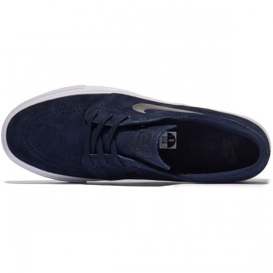Nike SB Zoom Stefan Janoski HT Shoes - Obsidian/Black - 7.0