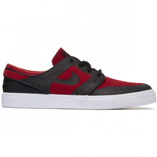 Nike Zoom Stefan Janoski Elite Shoes - Red/Black - 8.0