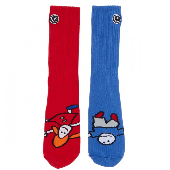 Foundation Whipper Socks - Multi