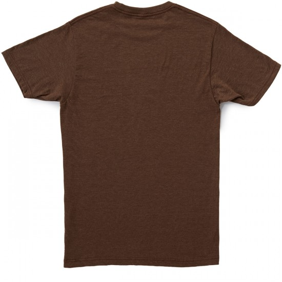 Toy Machine Our World T-Shirt - Brown