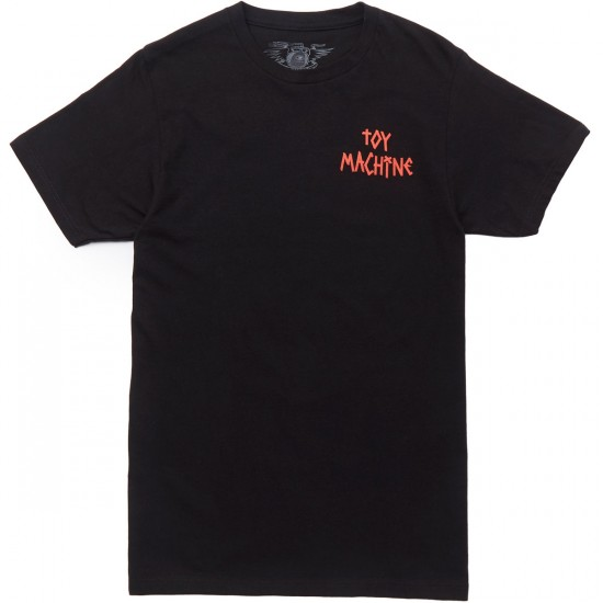 Toy Machine Dead Drunk T-Shirt - Black