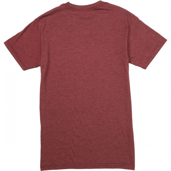 Toy Machine Sect Bub T-Shirt - Burgundy