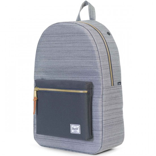 Herschel Settlement Backpack - Multi Crosshatch/Dark Shadow