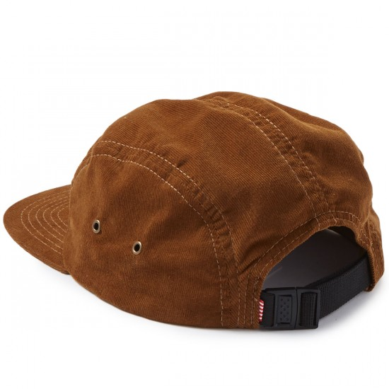 Herschel Glendale C Unstructured Five Panel Hat - Corduroy Caramel