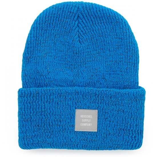 Herschel Abbott Beanie - Reflective Brilliant Blue