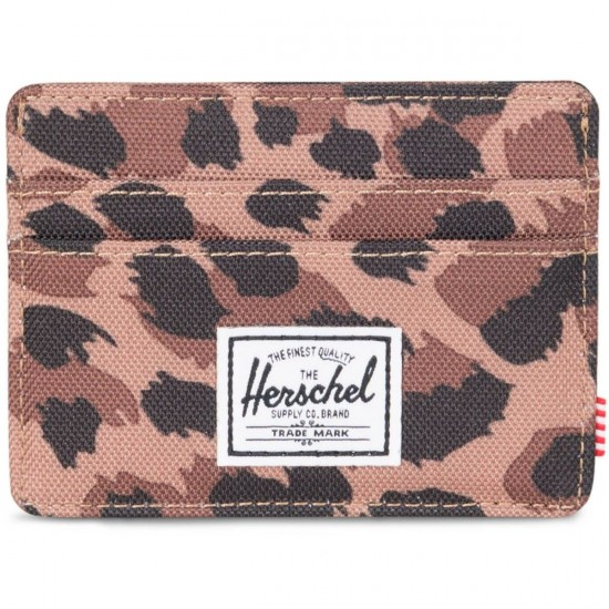 Herschel Supply Charlie Wallet - Leapord