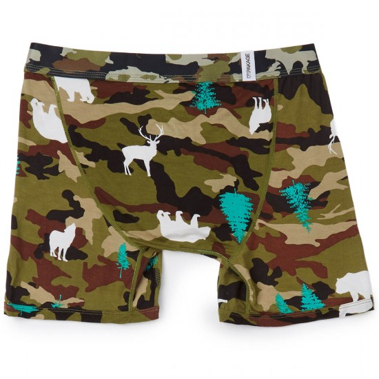 MyPakage Weekday Print Underwear - Wilderness Camo