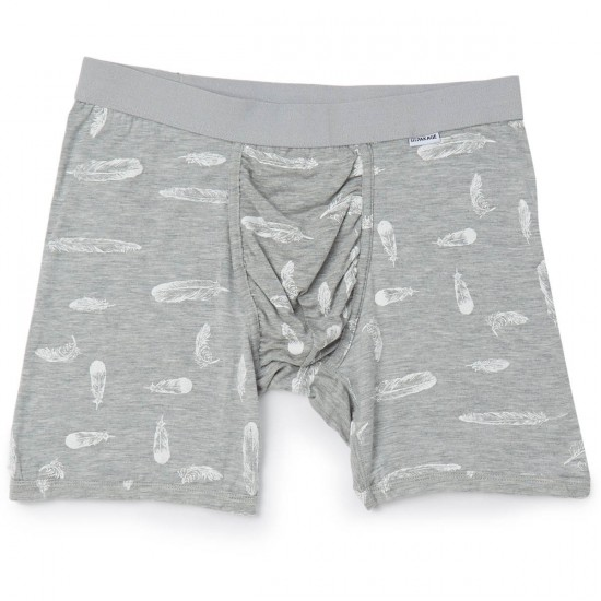 MyPakage Weekday Print Underwear - Heather/Feather