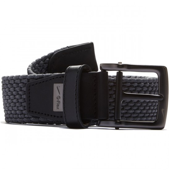Nike Stretch Woven Belt - Dark Grey