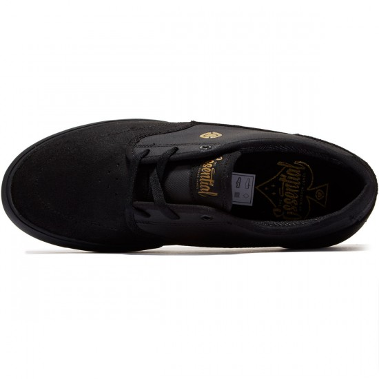 C1rca Essential Shoes - Black/Gold - 8.0