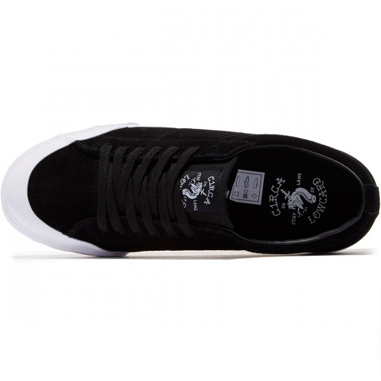 C1rca X Lowcard Fremont Shoes - Black/White - 8.0