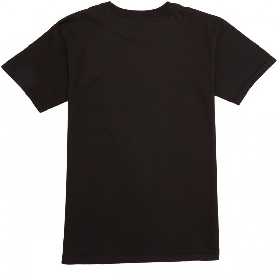 Captain Fin Naval Captain T-Shirt - Black/Charcoal