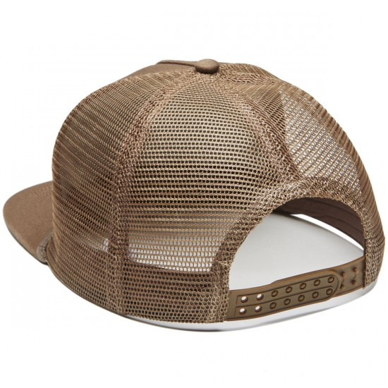 Captain Fin Fish Bones Trucker Hat - Brown