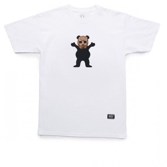 Grizzly Grip Chris Joslin OG Bear T-Shirt - White