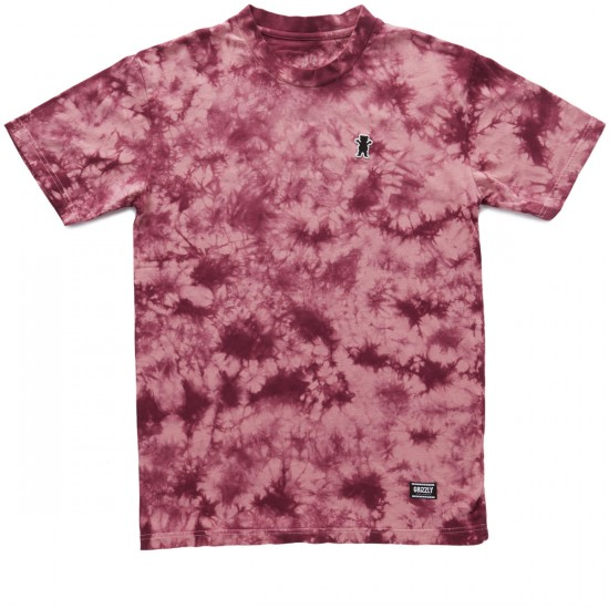 Grizzly Mid-Plains T-Shirt - Blood Red