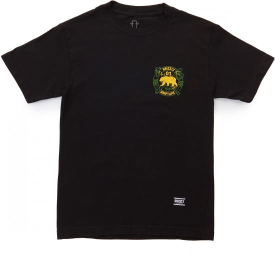 Grizzly Native Elements T-Shirt - Black