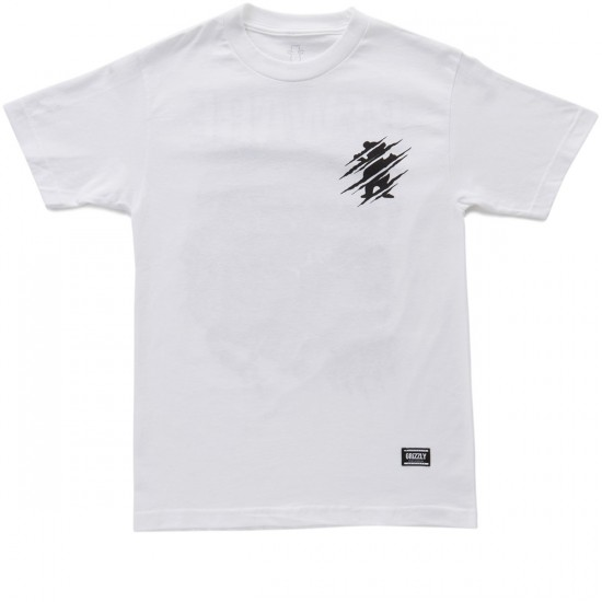 Grizzly Destroy T-Shirt - White
